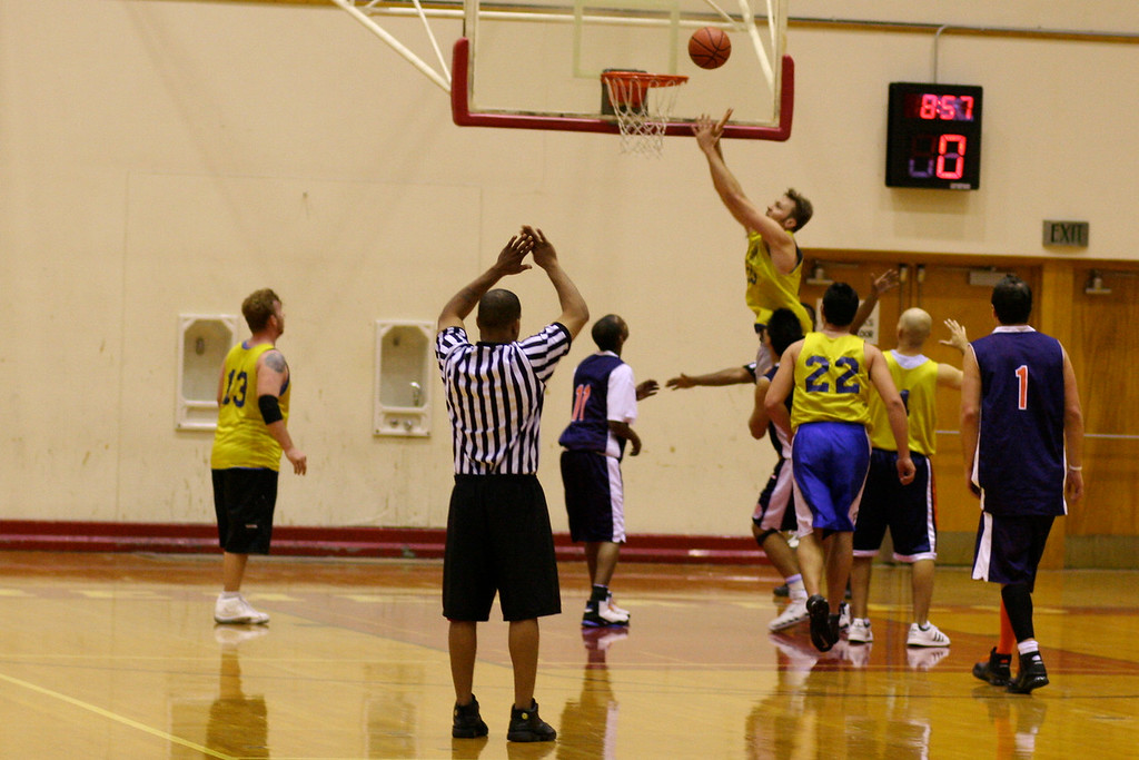 Deaf Basketball Tournament
